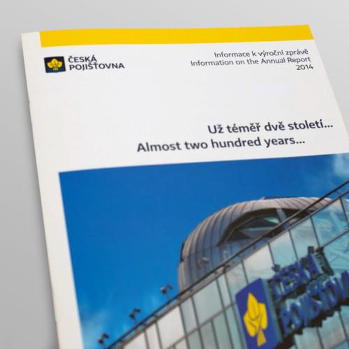 Česká pojišťovna – Výroční zpráva 2014